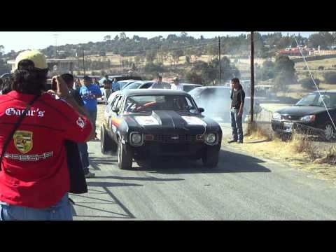 Arrancones Texcoco Chevy nova vs Chevy Turbo