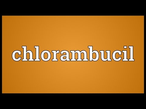 Chlorambucil Meaning