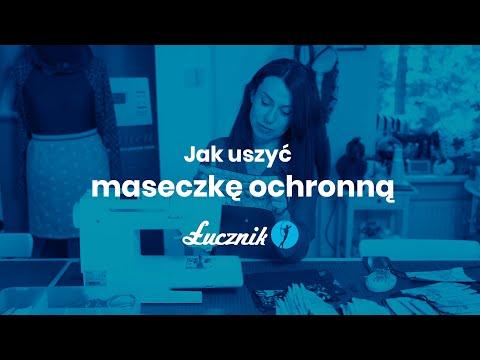 Łucznik - Jak uszyć maseczkę ochronną