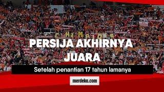 Video Persija Akhirnya Juara MP3, 3GP, MP4, WEBM, AVI, FLV Desember 2018