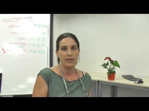 שירי דואר מתוק משתפת מחוויותיה בקבוצת העמיתים למנהלי פיתוח ארגוני