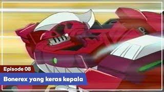 Daigunder - Episode 08 (BAHASA INDONESIA) : Bonerex yang keras kepala!