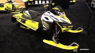 9. 2016 Ski Doo MXZ XRS 800R e Tec Sled - Walkaround - 2015 AIMEXPO Orlando