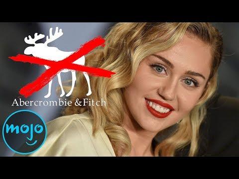 Top 10 Celebrity Boycotts of All Time (видео)