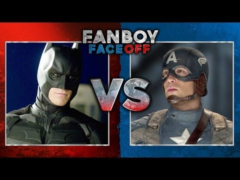 faceoff - Fanboy Faceoff: Batman vs Captain America Subscribe Now! ▻ http://bit.ly/SubClevverMovies The eternal battle between comic book giants DC and Marvel will com...