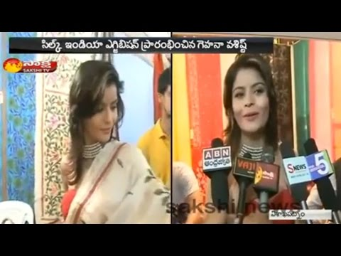 Bollywood Actress Gehana Vasisth Hulchul in Vizag - Watch Exclusive