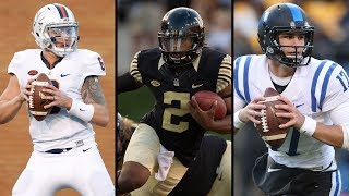 "The ACC enjoyed a banner season in 2016 with stellar quarterback play from some of the best to ever play in the conference. The torch has now been passed and there is a new crop of quarterbacks waiting to make their mark. Wake Forest's Kendall Hinton, Duke's Daniel Jones and Virginia's Kurt Benkert will look to lead their teams to prominence. The ACC Digitial Network gives the ""Breakout Quarterbacks"" to be on the lookout for in 2017.SUBSCRIBE: http://bit.ly/Oqg3iEThe ACC Digital Network (theACCDN) is a joint venture between Silver Chalice, a leading digital sports and entertainment media firm and Raycom Sports, a long-time television producer and partner of the Atlantic Coast Conference.  The cross-platform digital video network covers the spectrum of one of the nation's top intercollegiate athletic conferences, featuring both live programming and original on-demand content throughout the entire year.  All ACCDN videos are viewable on theACC.com, the ACC mobile and tablet app, as well as various streaming and connected mobile and TV devices such as Amazon Fire, Apple TV, go90TM and Roku. For more information, visit theACC.com and follow @theACCDN on Twitter, Instagram and Snapchat.Connect with the ACCDigitalNetwork Online:Visit the ACC WEBSITE: http://theacc.comVisit the ACC Facebook: https://www.facebook.com/theACC/Follow the ACCDN on Twitter: https://twitter.com/theACCDNFollow the ACCDN on Instagram: http://instagram.com/theACCDNhttp://www.youtube.com/user/ACCDigitalNetwork"