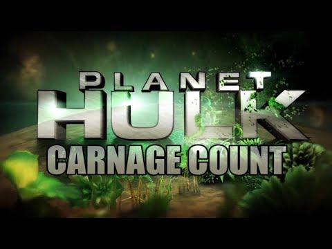 Planet Hulk (2010) Carnage Count