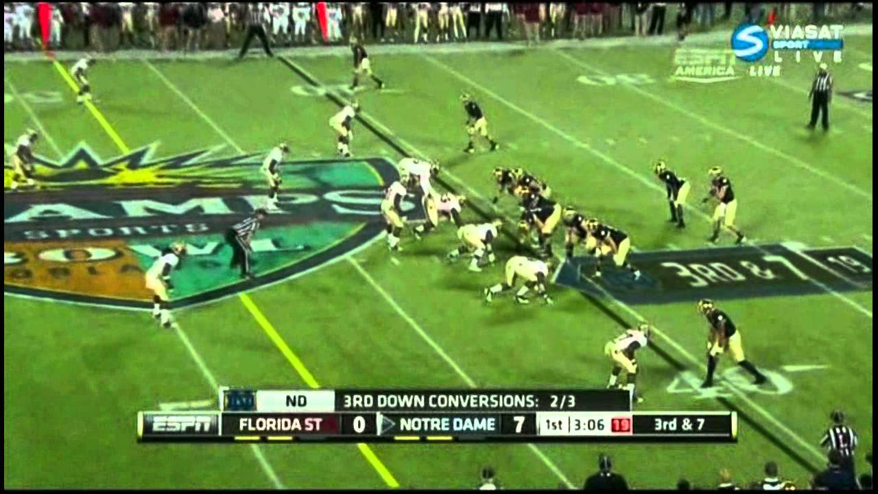 Xavier Rhodes vs Notre Dame (2011)