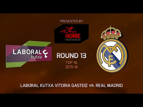 Highlights: Top 16, Round 13, Laboral Kutxa 89-88 Real Madrid
