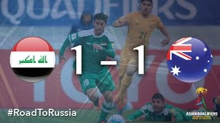 Second half substitute Ahmed Yasin salvaged a point for Iraq although Australia remain undefeated in the 2018 FIFA World Cup Russian Asian qualifiers after a...