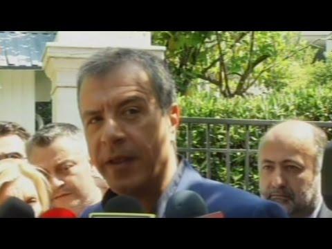Δηλώσεις Σ .Θεοδωράκη μετά την συνάντησή του με τον Α. Τσίπρα