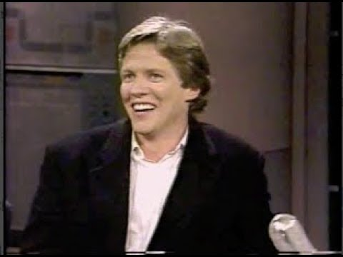 """Tom (""""Biff"""") Wilson Collection on Letterman, 1990"""