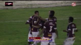 12º Rodada - Campeonato Paulista Série A2 2017 - TAUBATÉ 1 x 2 SERTÃOZINHO