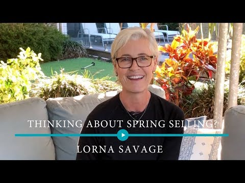 Thinking of spring selling?