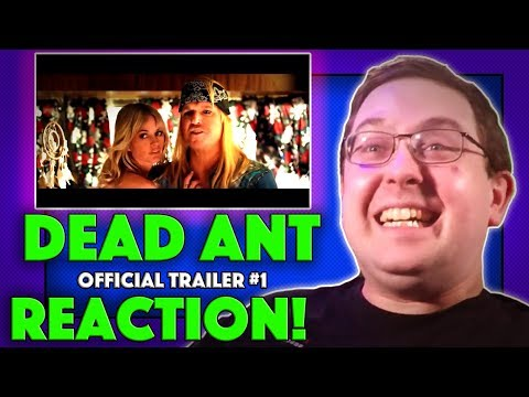 REACTION! Dead Ant Trailer #1 - Jake Busey Movie 2017