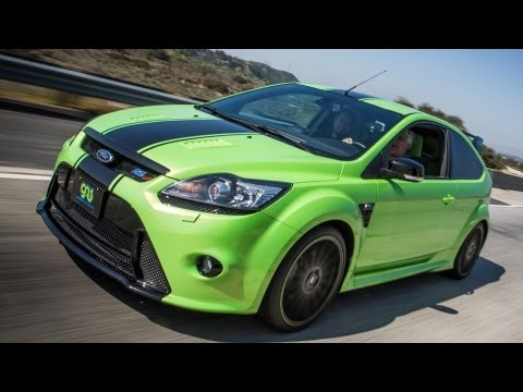 ford focus rs: un auto per piloti veri!