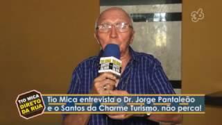 Entrevistas na Câmara Municipal com Pantaleão e Santos