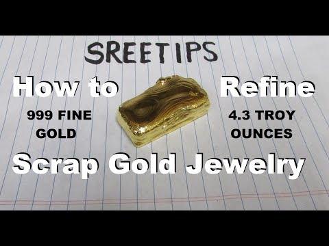 Sreetips How To Refine Scrap Gold Jewelry