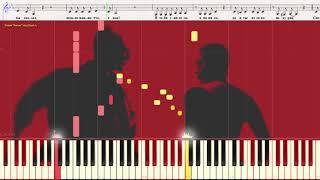 Курю - Ваенга Елена (Ноты и Видеоурок для фортепиано) (piano cover)