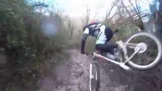Fiano Romano Italy  city photos : MTB Crash-fallen-caduta - Italy Fiano Romano