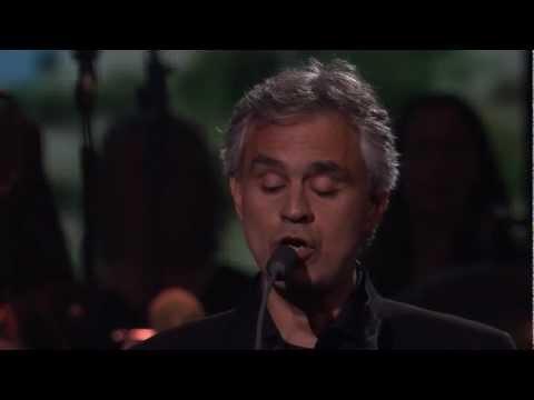 """andrea bocelli canta """"o sole mio"""" - live londra 2012"""