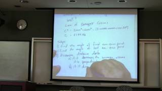 Introduction to Robotics Course -- Lecture 10 - Sensing:  LIDAR and Encoders