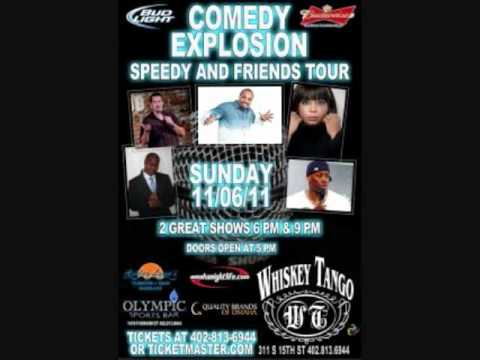 Comedy Explosion featuring Cocoa Brown,Kool Bubba Ice, R.T. Stekel, Rob Stapleton, and Speedy