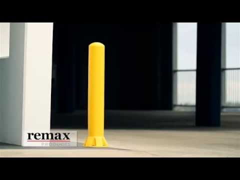 Remax bollards - Energy absorbing protection!