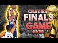 CRAZIEST FINALS GAME EVER VS GOLDEN STATE WARRIORS! NBA 2K18 MyCareer