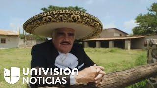 Vicente Fernández interpreto un corrido en apoyo a Hillary Clinton