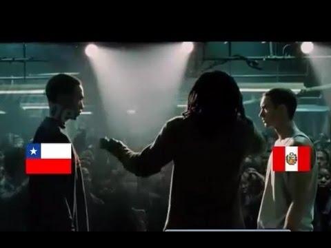 Peru vs Chile PARODIA 8 MILE (COPA AMERICA CHILE 2015)
