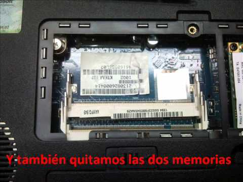 Borrar la clave de la BIOS en un Toshiba Satellite A350 / Clear password