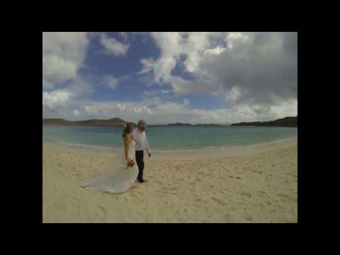Rick & Kathleen Get Married at Lindquist Beach