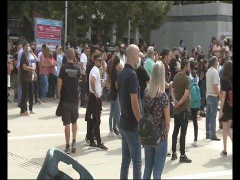 Συλλαλητήριο πραγματοποιήθηκε  στην Καρδίτσα για τις ζημιές  από τον «Ιανό»