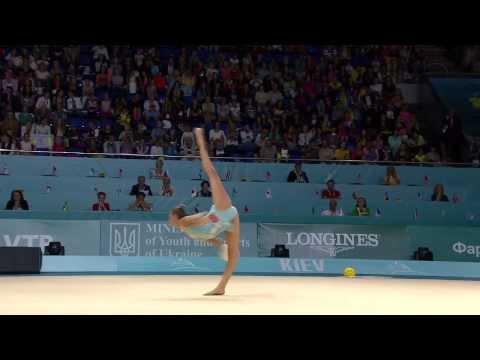 2013 Rhythmic Gymnastics World Championships - Hoop and Ball Finals (видео)