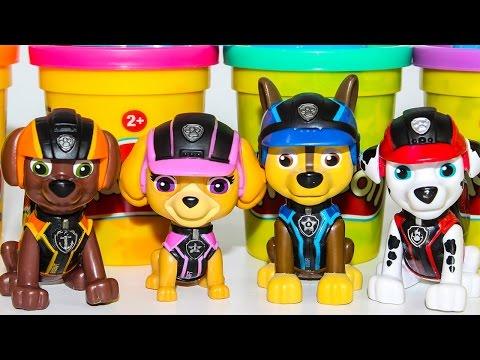 Щенячий патруль Новая серия Мультик для детей Плей До Развивающие мультфильмы про игрушки Paw Patrol