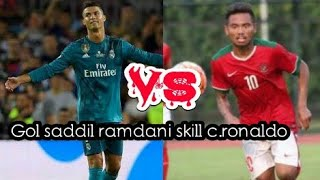 Video BERKELAS!!!GOL SADDIL RAMDANI DI SEA GAMES MIRIP GOL C RONALDO MP3, 3GP, MP4, WEBM, AVI, FLV Oktober 2017