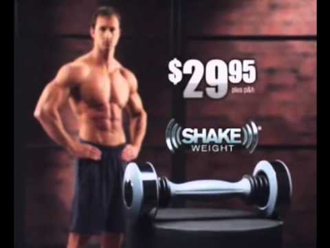 Shake Weight Commercial ~ @Gordon_Willz