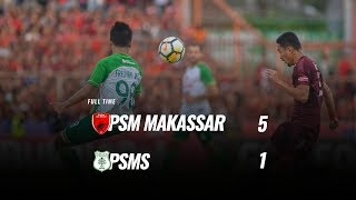 Video [Pekan 34] Cuplikan Pertandingan PSM Makassar vs PSMS, 9 Desember 2018 MP3, 3GP, MP4, WEBM, AVI, FLV Juni 2019