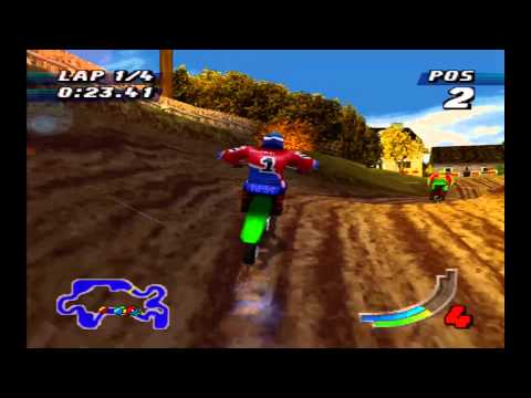 Jeremy McGrath Supercross 98 Playstation