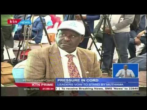 Pressure in CORD as Wiper Chairman, Musila hands a 30 day ultimatum