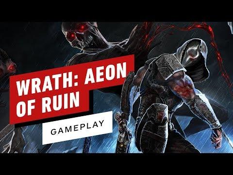 игрового процесса wrath aeon ruin нового ретро-шутера авторов