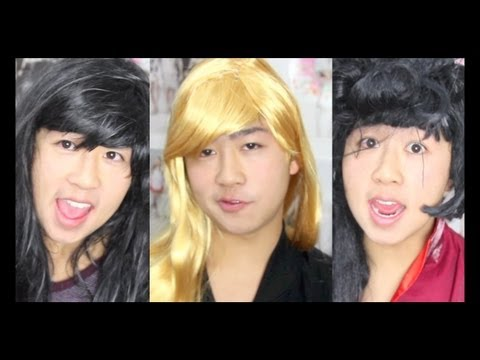 know - Which kinda girl are you? I'm the kind who should stop wearing wigs :/ lol Thanks for watching guys! big shout out to every who's stuck around. I made this v...