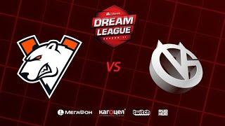 Virtus.pro vs Vici Gaming, DreamLeague Season 11 Major, bo3, game 1 [4ce & Lex]