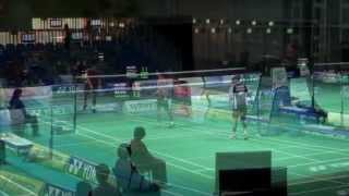2012 Yonex Australian Open Day 1 Highlights and Interviews