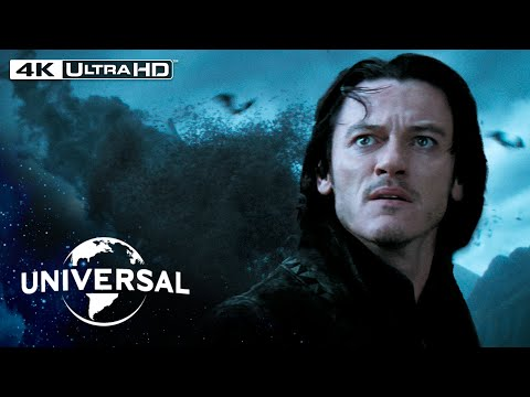 Dracula Untold | Vlad Destroys an Army With Thousands of Vampire Bats in 4K HDR