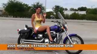 7. Used Motorcycles for sale 2005 Honda VT 750 Shadow Spirit Tampa
