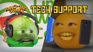 Video Annoying Orange - Tech Support MP3, 3GP, MP4, WEBM, AVI, FLV Januari 2018
