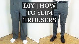 Video DIY | How To Slim & Shorten Suit Trousers | Josh Barnett MP3, 3GP, MP4, WEBM, AVI, FLV Oktober 2018